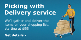 Picking with Delivery service