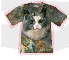 Mr. Gugu & Miss Go Kitty Print T-Shirt