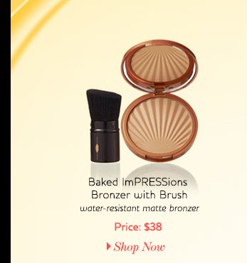 Baked ImPRESSions Bronzer with Brush