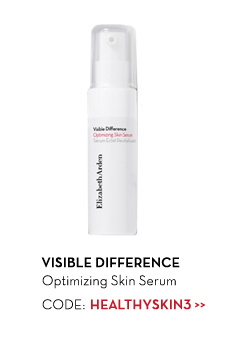 VISIBLE DIFFERENCE. Optimizing Skin Serum. CODE: HEALTHYSKIN3.