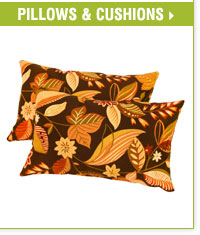 Web Exclusive! Make the great outdoors even greater with party-ready patio furnishings. Shop pillows and cushions.