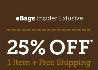 25% Off 1 Item + Free Shipping! Shop Now.