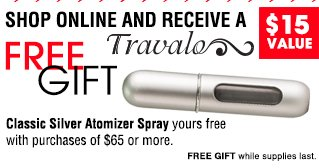 Shop Onlne and Receive A FREE GIFT