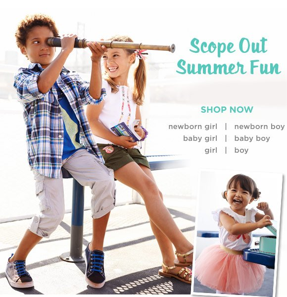 Scope Out Summer Fun. Shop Now.