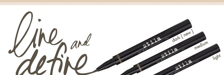 line and define: well defined brows, naturally