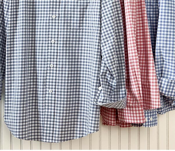 Spend your summer in our classic warm-weather fabrics-cotton, silk, and linen.