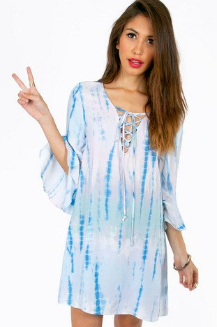 BELLE OF THE TIE DYE TUNIC 40