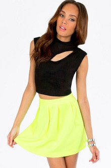 CRESCENT HIGH NECK CROP TOP 21