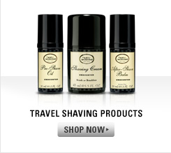Travel Shaving Products