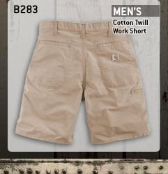Men's Cotton Twill Work Short