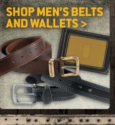 Men's Belts and Wallets