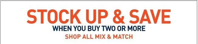 Shop All Mix & Match