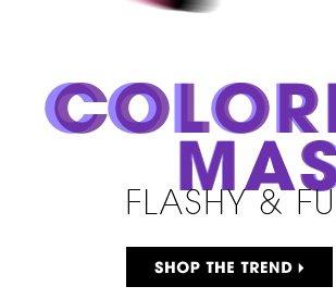 Colorful Mascaras: Flashy & Fun. Shop the trend