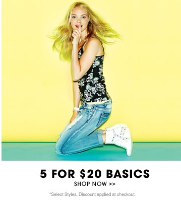 Shop 5 for $20