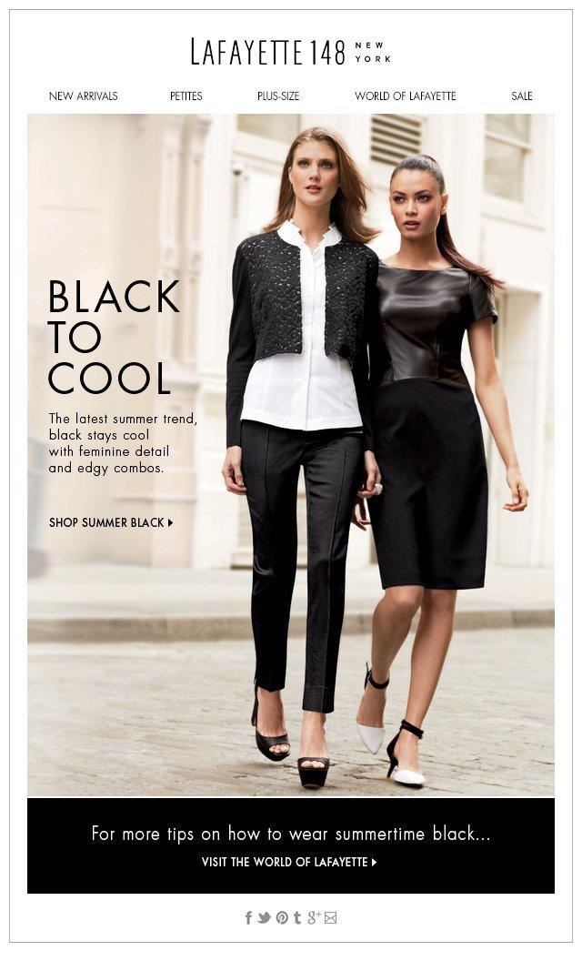 Cool Summer Black