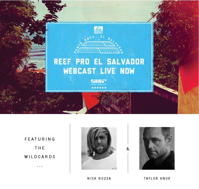 Reef Pro El Salvador Webcast Live Now