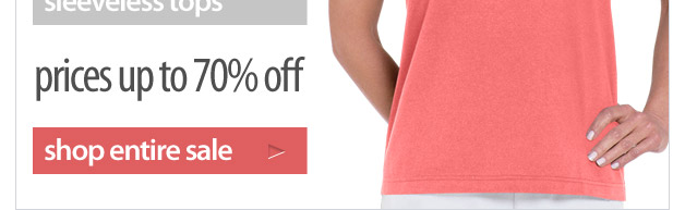 tank it or sleeve it - clearance tops up to 70% off - shop now