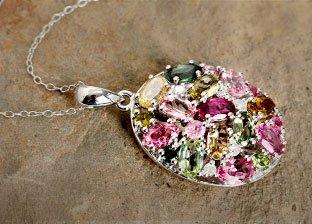 This Summer Trend: Mixed Gemstones