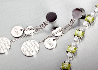 Designer Silver Jewelry by Lauren G. Adams, Krementz & More