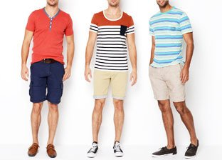 Summer Essentials Sale for Him From $15