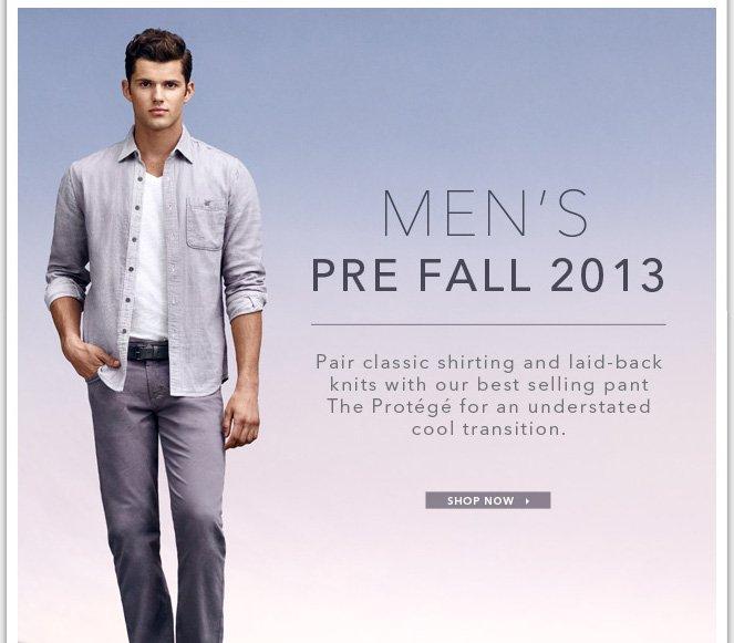 Men's Pre Fall 2013