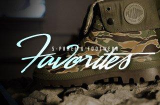 5-Panel & Footwear Favorites