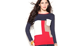 Fall preview: Geometric sweaters