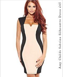 Amy Childs Sabrina Silhouette Dress