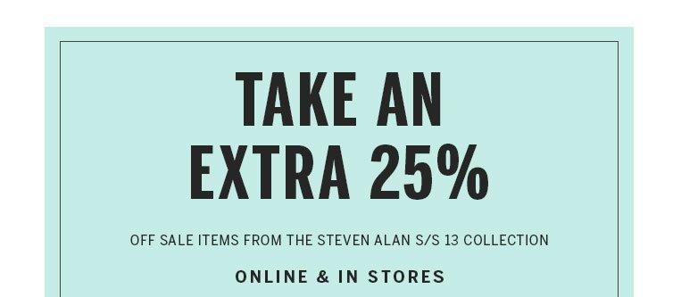 Shop Steven Alan Sale Items