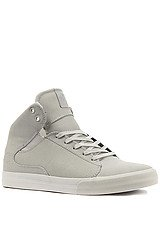 The Society Mid Sneaker in Gray Gunny TUF