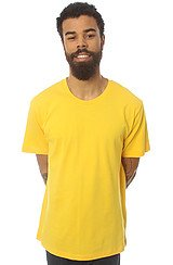 The Basic Crew Tee in Mustard