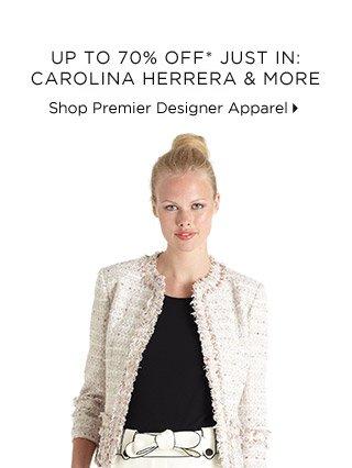 Up To 70% Off* Just In: Carolina Herrera & More