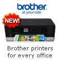 Brother printers for every office. NEW!