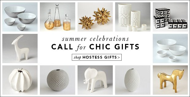 summer celebrations Call for Chic Gifts