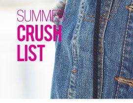 SUMMER CRUSH LIST