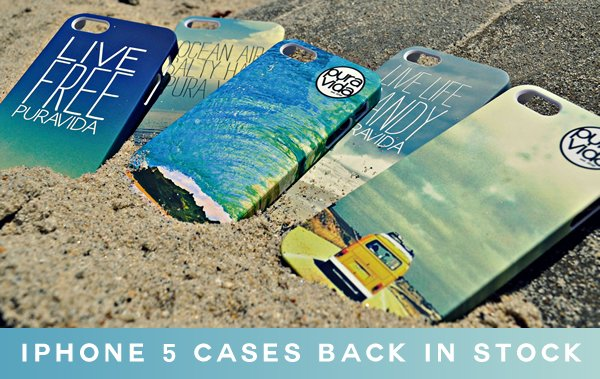iPhone 5 Cases Back In Stock