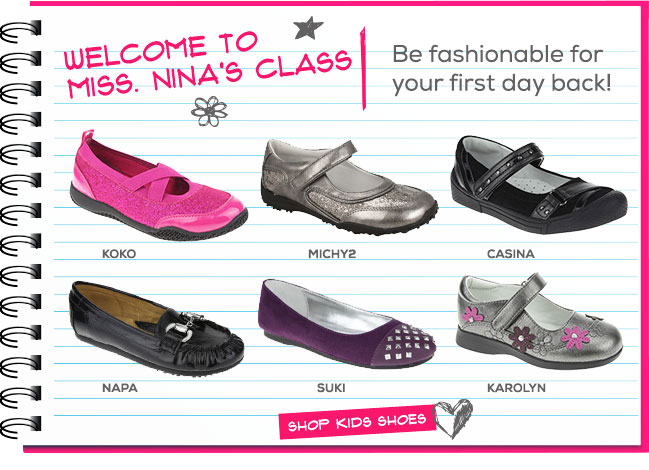 New Arrivals for Back to School
