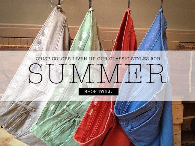 Summer Twills