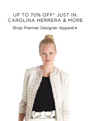 Up To 70% Off* Just In: Carolina Herrera & More