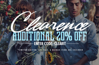 Clearance Event: Take 20% Off