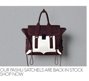 Pashli Satchels are back in Stock