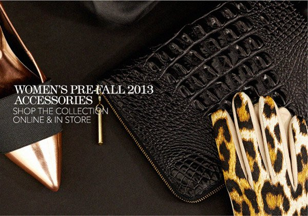 Shop New Pre-Fall Accessories Arrivals