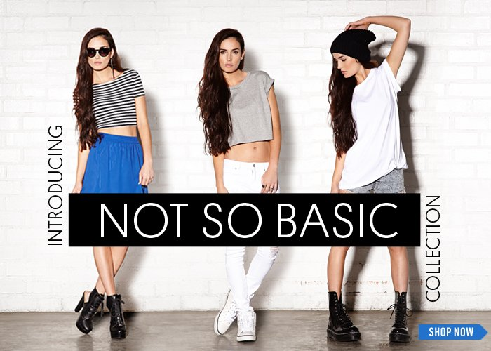 Introducing Not So Basic Collection - Shop Now