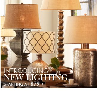 INTRODUCING NEW LIGHTING - STARTING AT $79