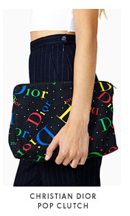 Christian Dior Pop Clutch