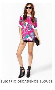 Electric Decadence Blouse