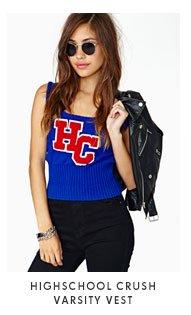 High School Crush Varsity Vest