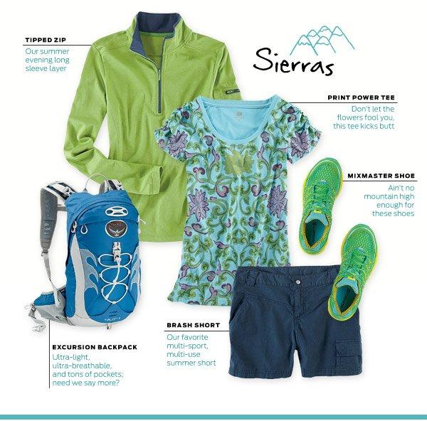 Shop Sierras Adventure ›