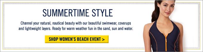 Shop Women's Beach Event.