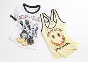 Girls' Tops from Modern Lux